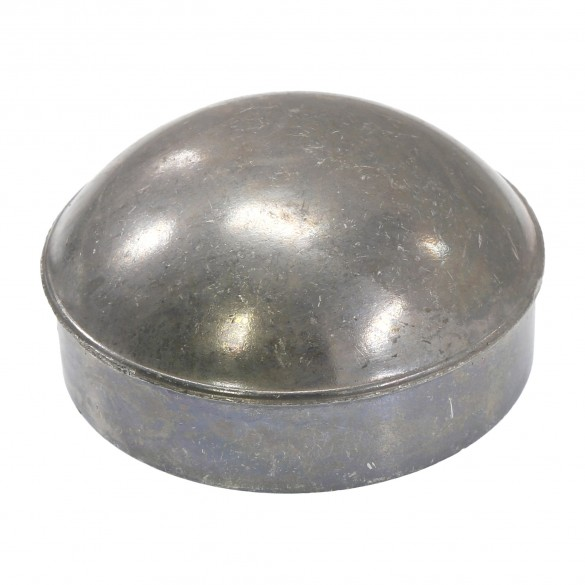 "3"" Die Cast Aluminum Dome External Round Post Caps (Fits 2 7/8"" OD)"
