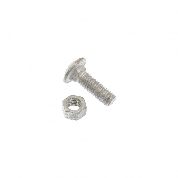 """3/8"""" x 1 1/4"""" Carriage Bolts and Nuts"""