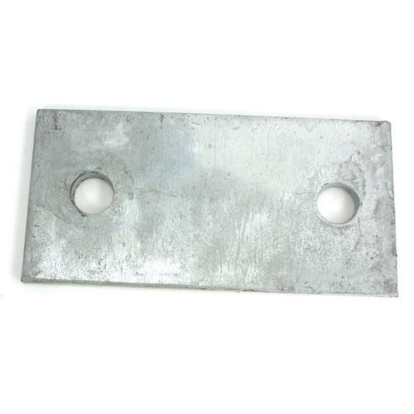 "1/4"" x 3"" x 6"" Galvanized Base Plates"
