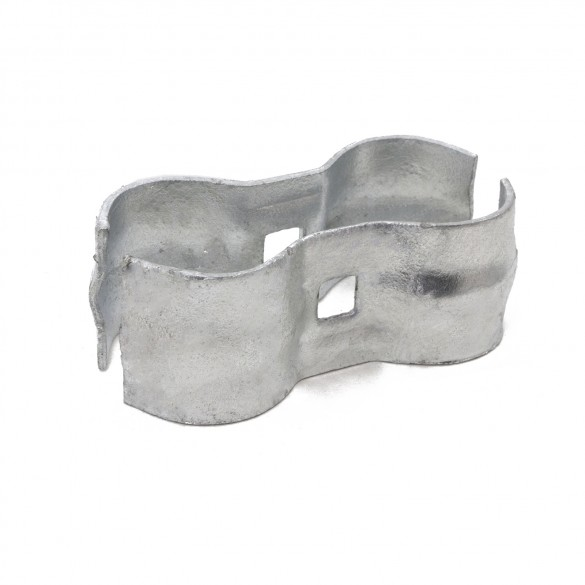 """1 3/8"""" x 1 3/8"""" Chain Link Panel Clamps"""