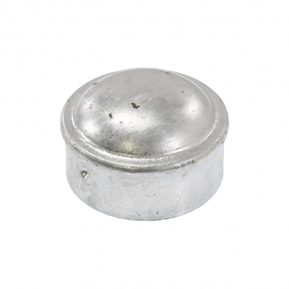 """2"""" Steel Dome External Round Post Caps (Fits 1 7/8"""" OD)"""
