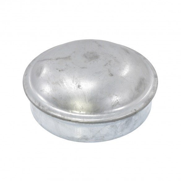 """6 5/8"""" Steel Dome External Round Post Caps"""