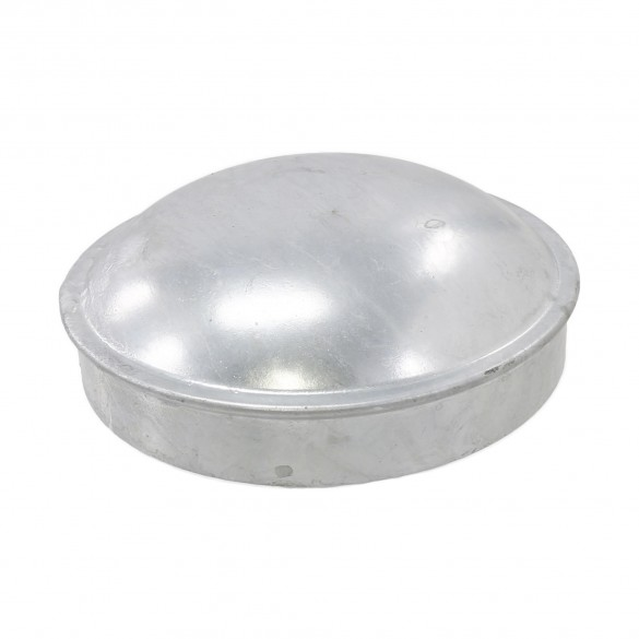"8 5/8"" Steel Dome External Round Post Caps"