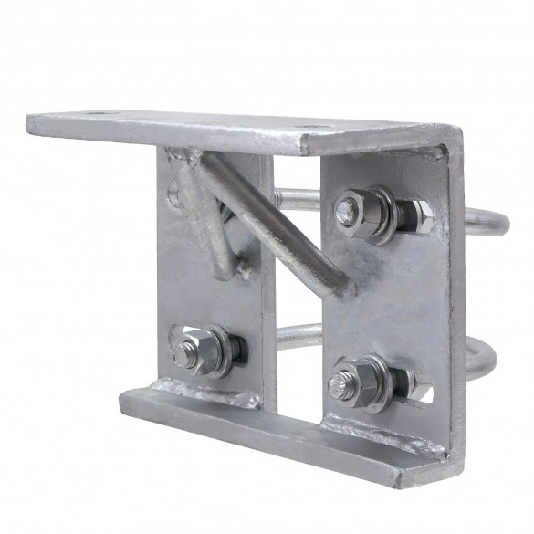 "4"" Round Galvanized Steel Truck Bracket For Sliding Gates"