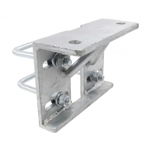 "4"" Square Galvanized Steel Truck Bracket For Sliding Gates"
