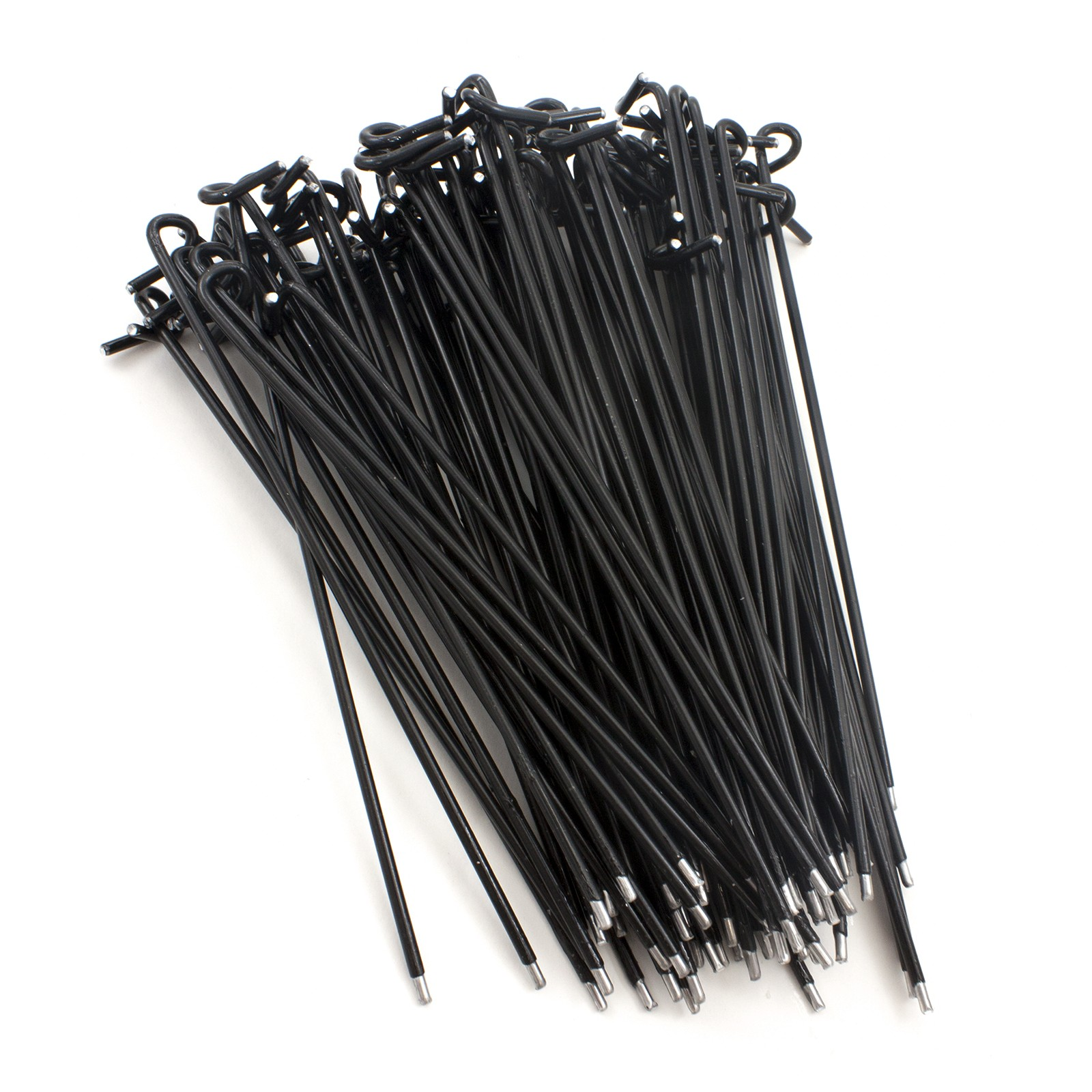 8 1 4 Quot Black Fence Ties Bag Of 100 Fits 2 1 2 Quot Post