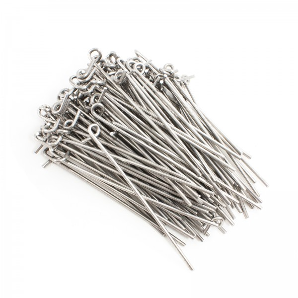 "6 1/2"" Aluminum Fence Ties (Bag of 100)"