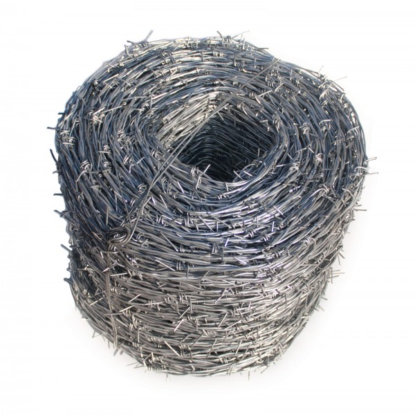 1320' Barbed Wire Galvanized Roll Class 3 - 4 Point Barb 12.5 Gauge