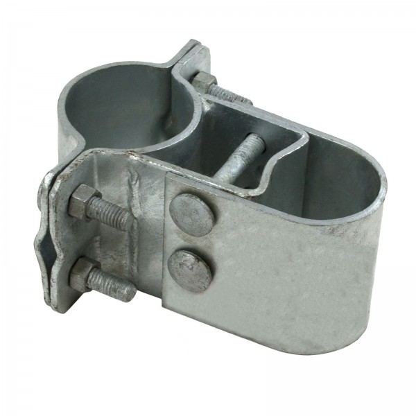 "2 1/2"" Industrial Gate Box Hinge, Pressed Steel (Fits 2 3/8"" OD)"