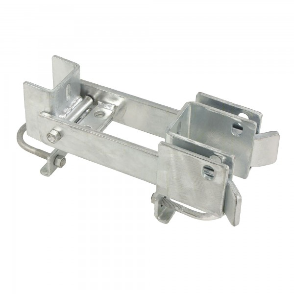 "Fulcrum Double Drive Industrial Gate Latch Commercial Grade 1 5/8"" or 2"" Frame"