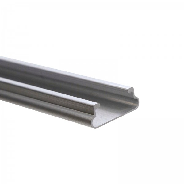 """Jiggly Greenhouse® Wire Aluminum Channel 6'6"""" (Single Piece) - JWC66A"""