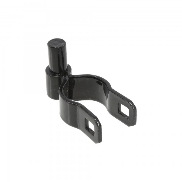 "1 3/8"" Black Male Gate Hinge"