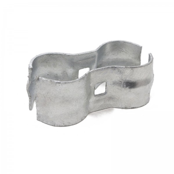 """1 3/8"""" x 1 3/8"""" Chain Link Kennel Clamps"""