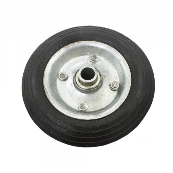 "6"" Solid Rubber Wheel Residential (Black)"