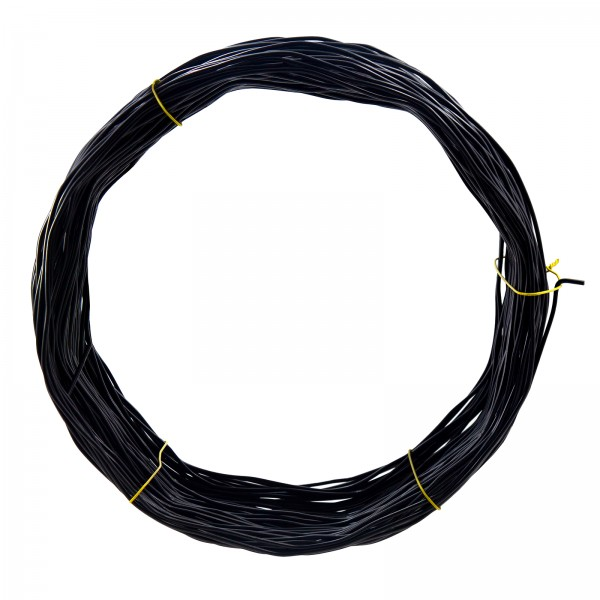 11 Core Gauge Black Spring Tension Wire (500')
