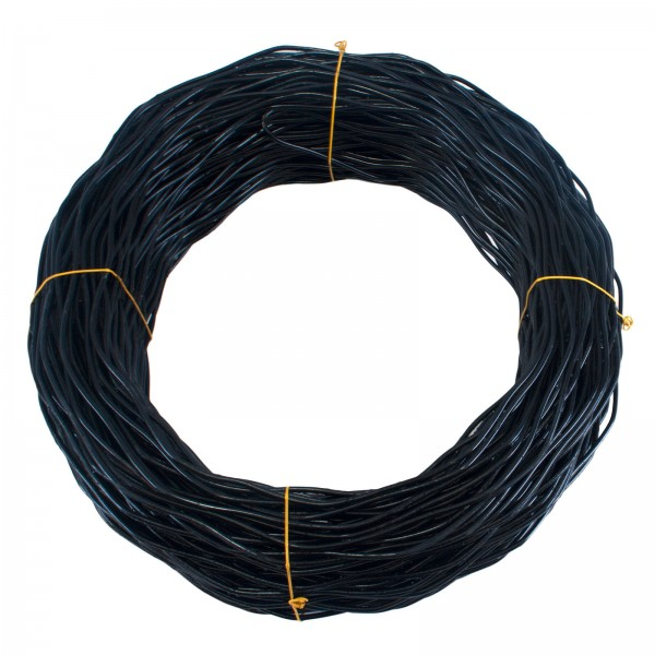 6 Gauge Core Black Fence Spring Tension Wire (1000')