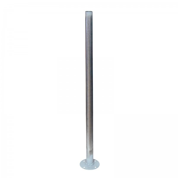 "1 5/8"" Round Support Post On Plate"