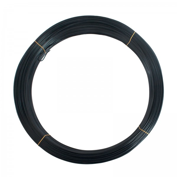9 Gauge Black Fence Utility Wire (50 lbs)